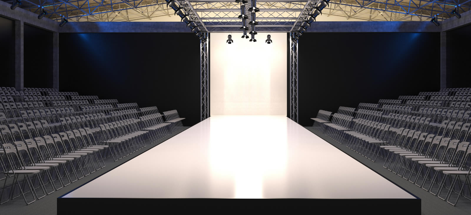 Stage catwalk show